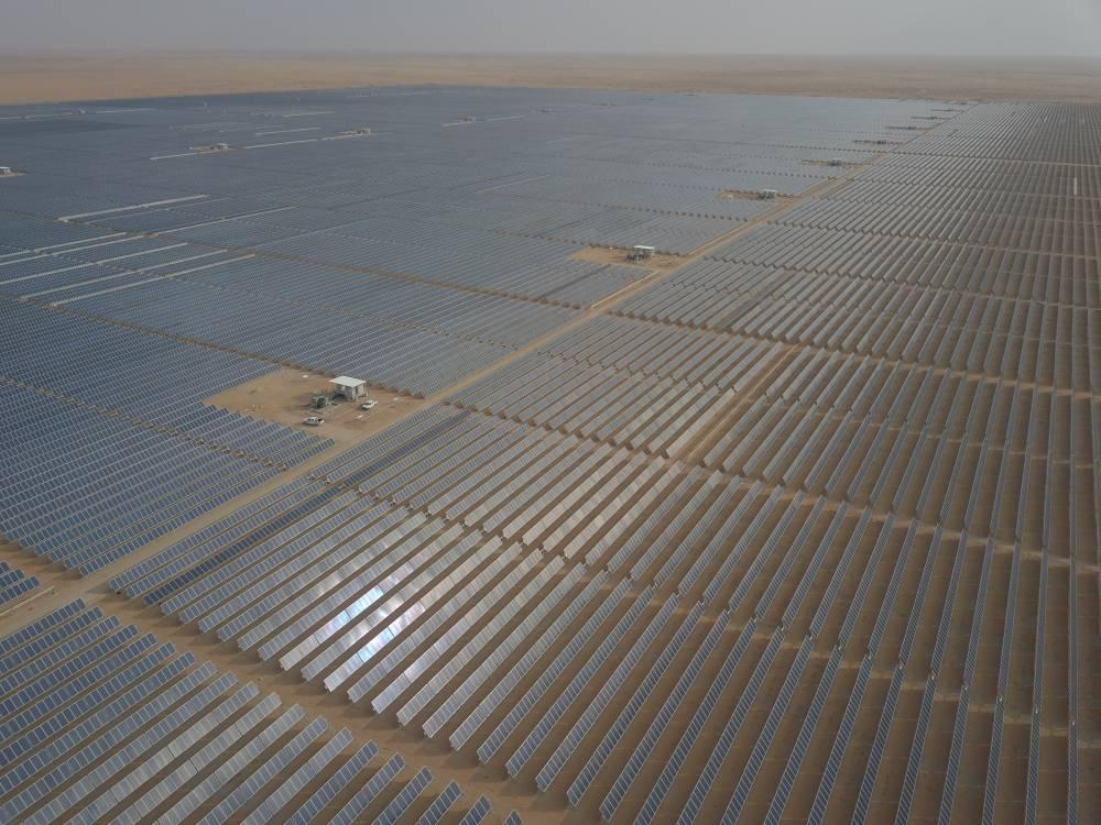 saudi renewable energy plant kicks