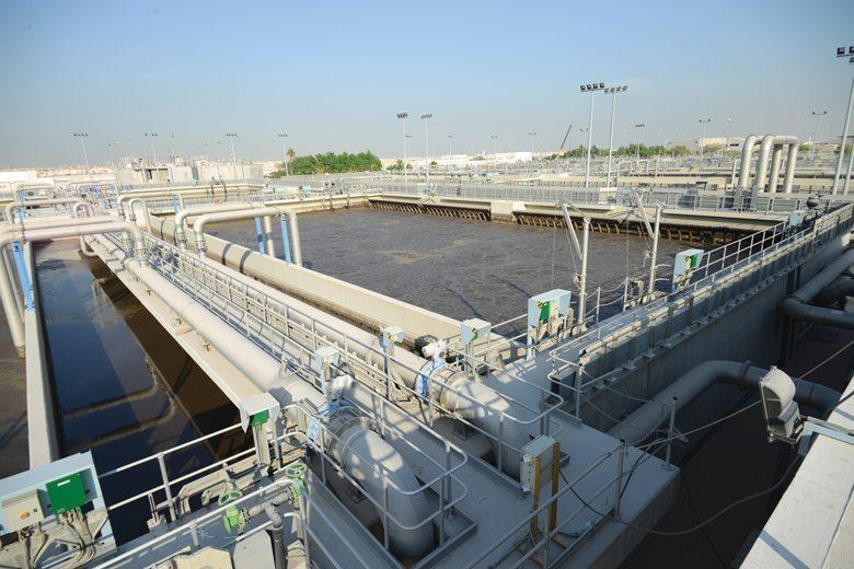plants sewage saudi
