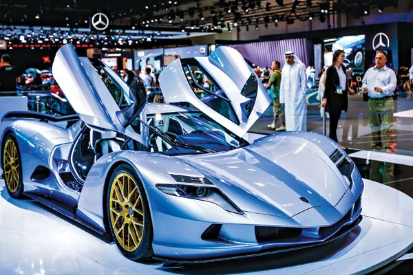 dubai highlights motor show