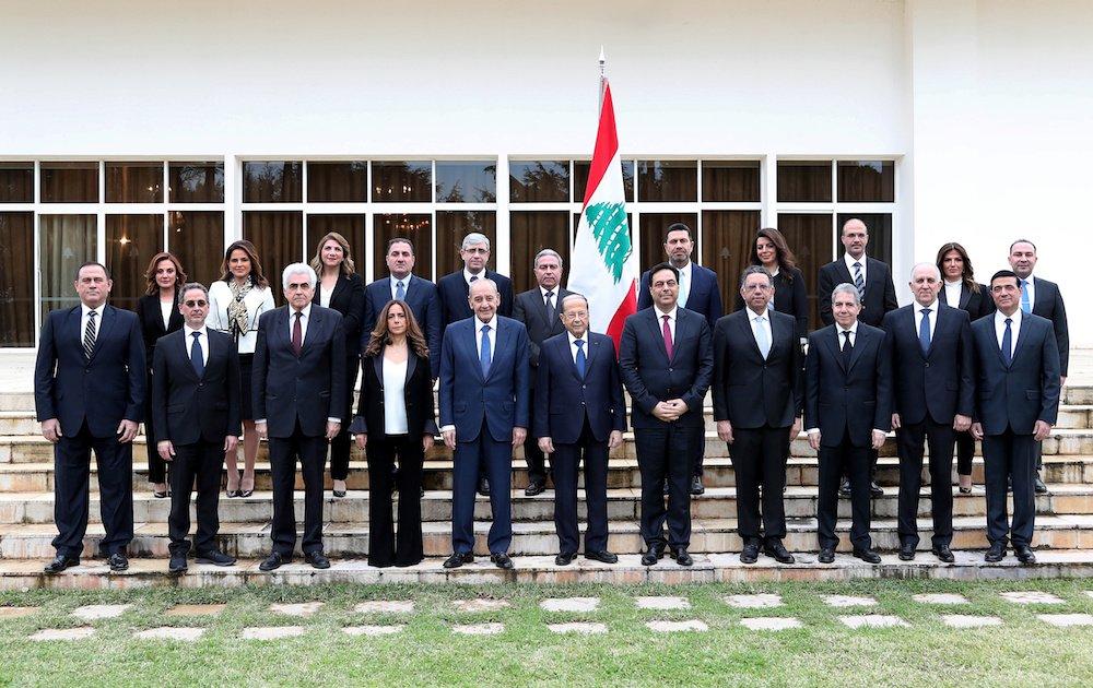 lebanon cabinet catastrophe governmentb bnew