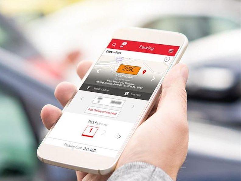rta app parking fees loyalty
