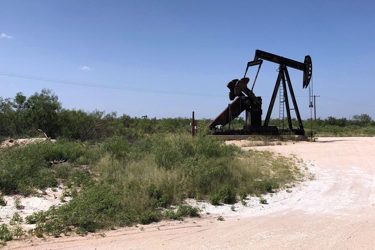 april shale oil output barrels