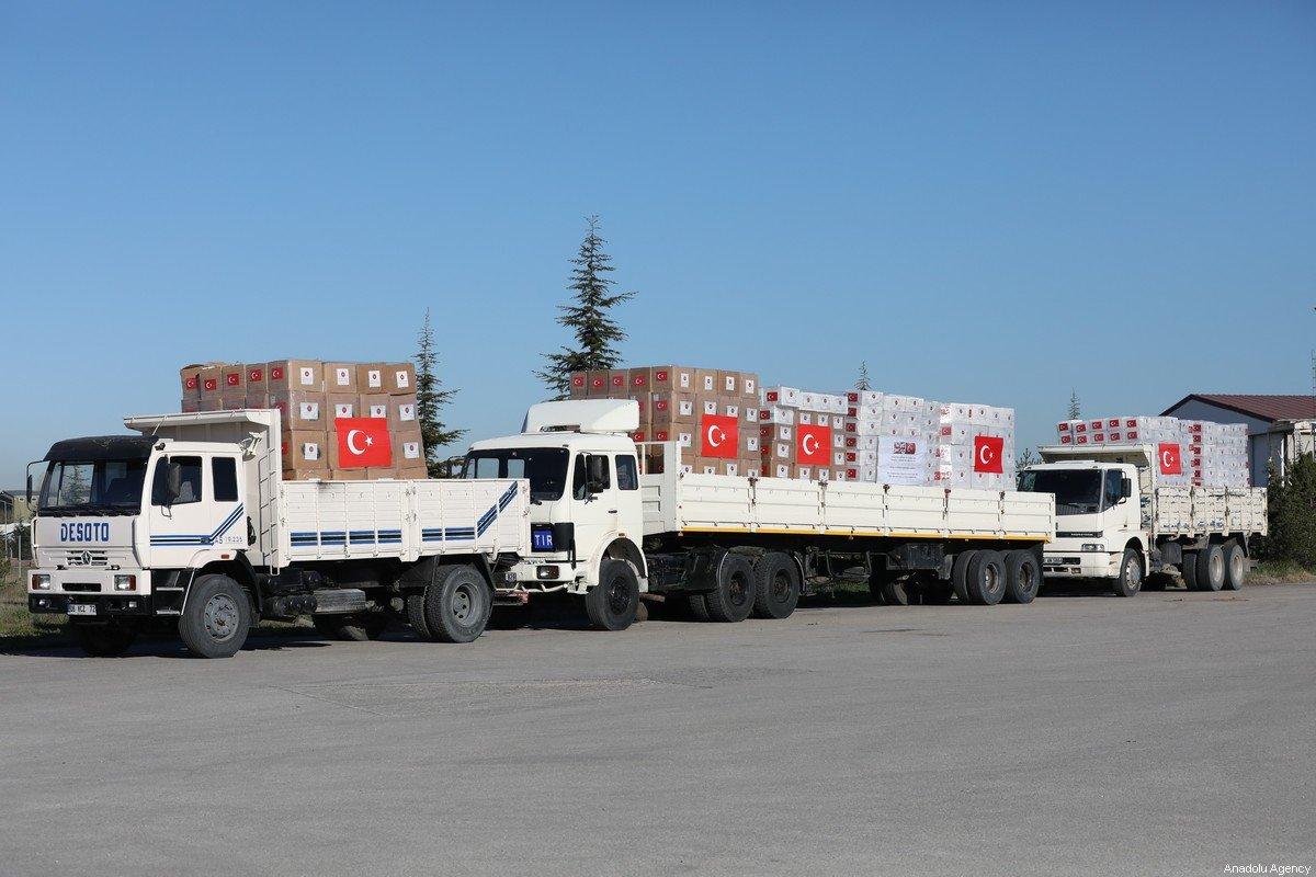 turkish covid firm field hospitals