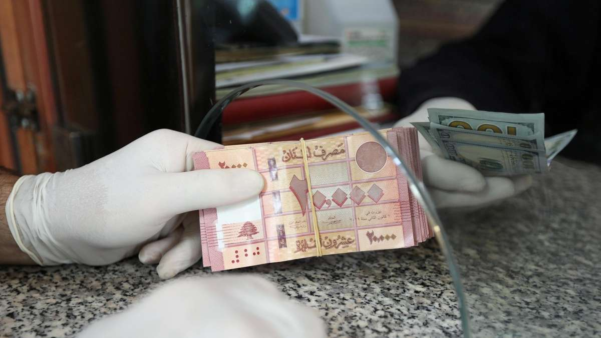lebanon dollar withdrawal rates official