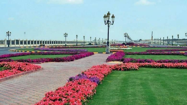 municipality sharjah taken blineb parks