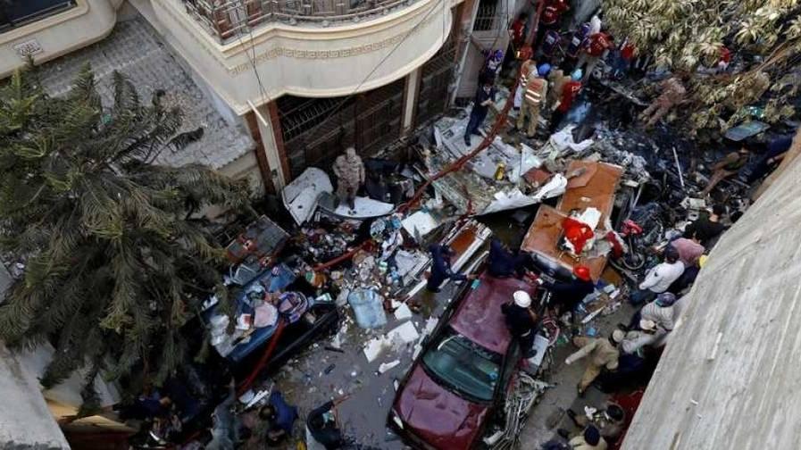 investigators crashed pia rsm wreckage