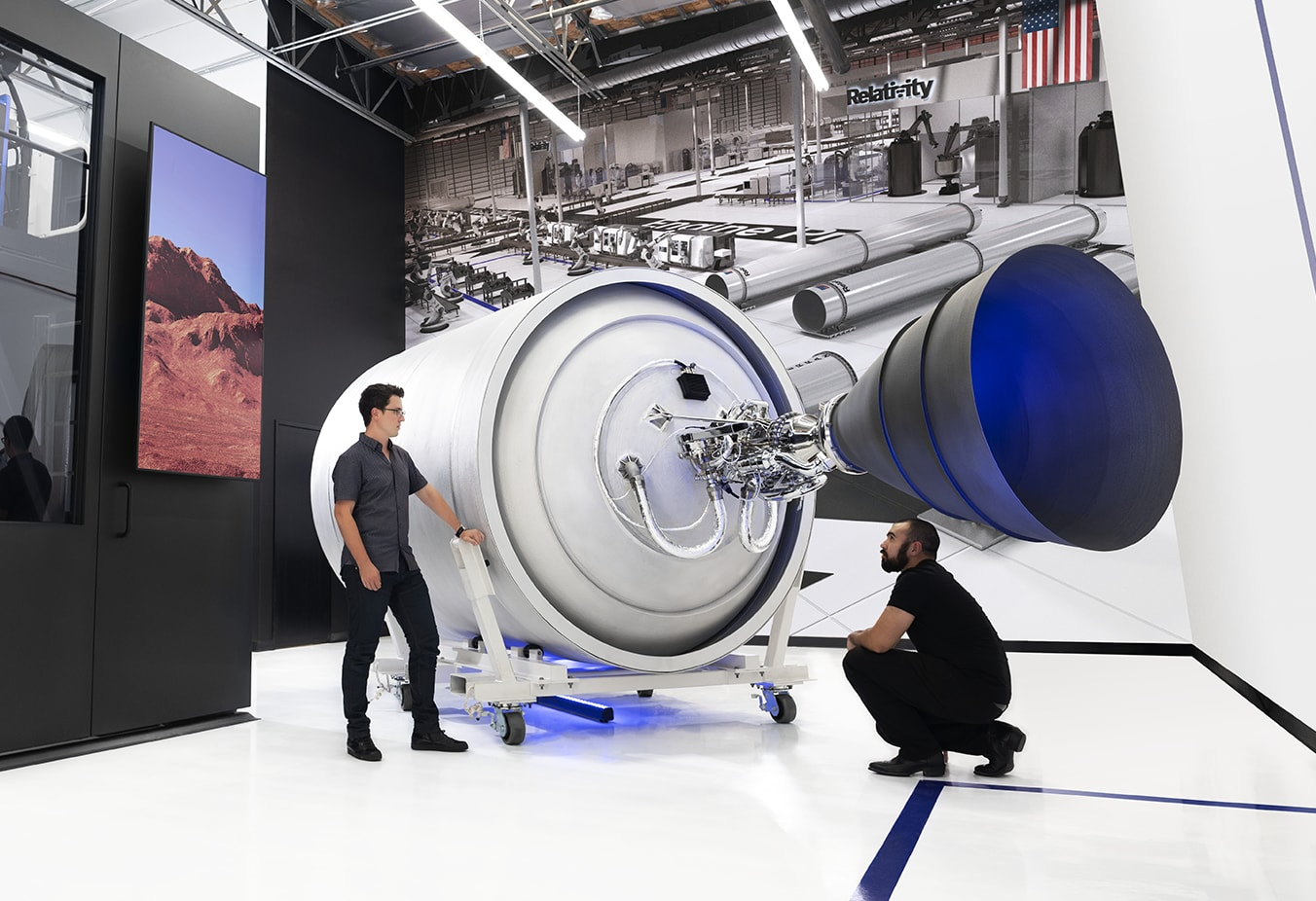 iridium rocket california relativity launchpad