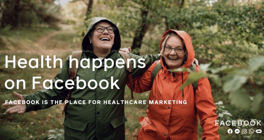 healthcare brands users facebook mediab