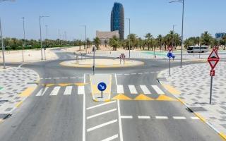 abu-dhabi survey road networks data