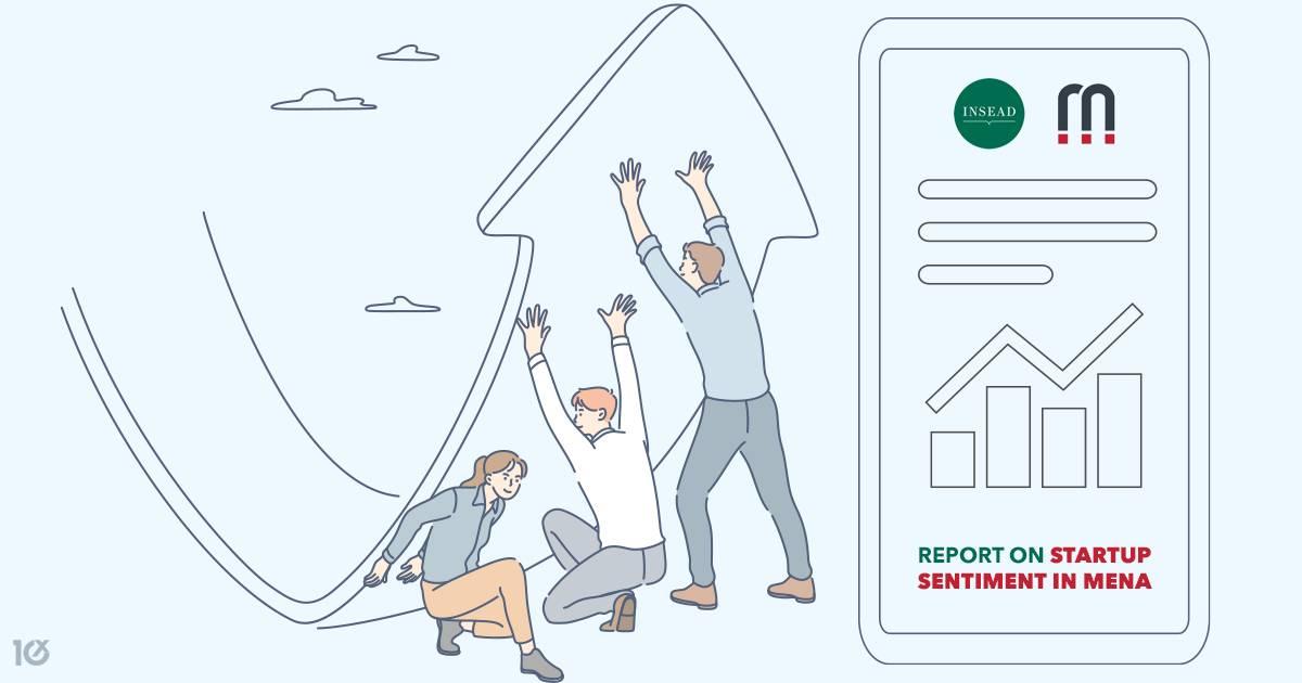 mena report magnitt startup sentiment
