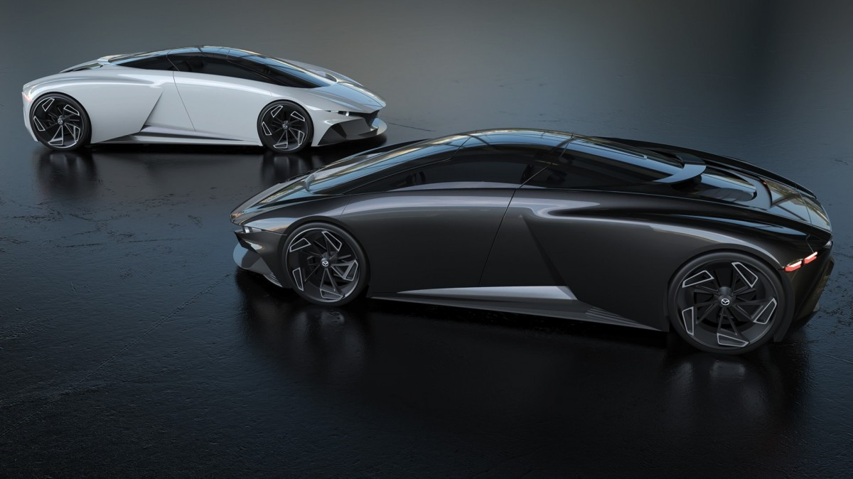 mazda supercar mid engined concept