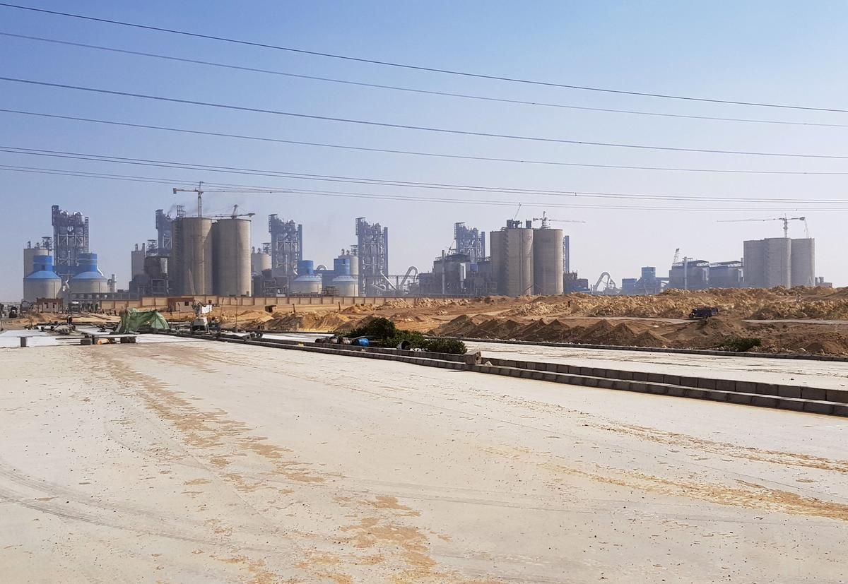 egypt coronavirus cracks cement industry