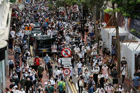 hong security protest vote kongers