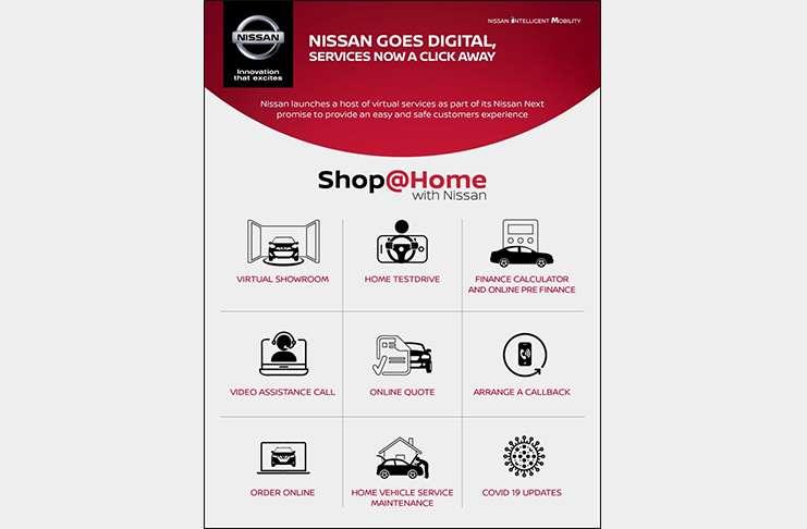 services nissan experience online shophome